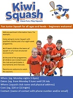 Club Support Kiwi Squash poster - web