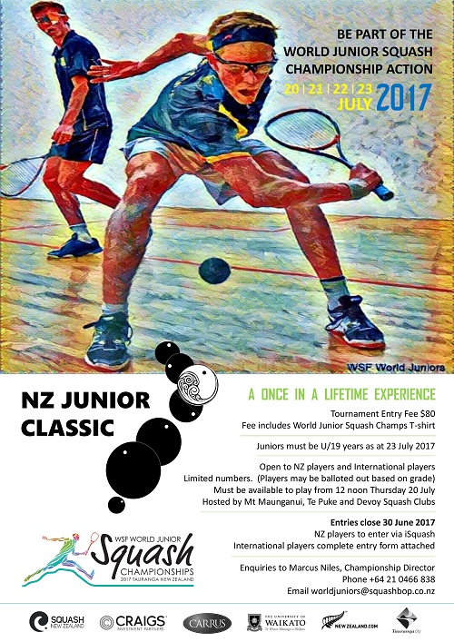500wide NZ Junior Classic poster