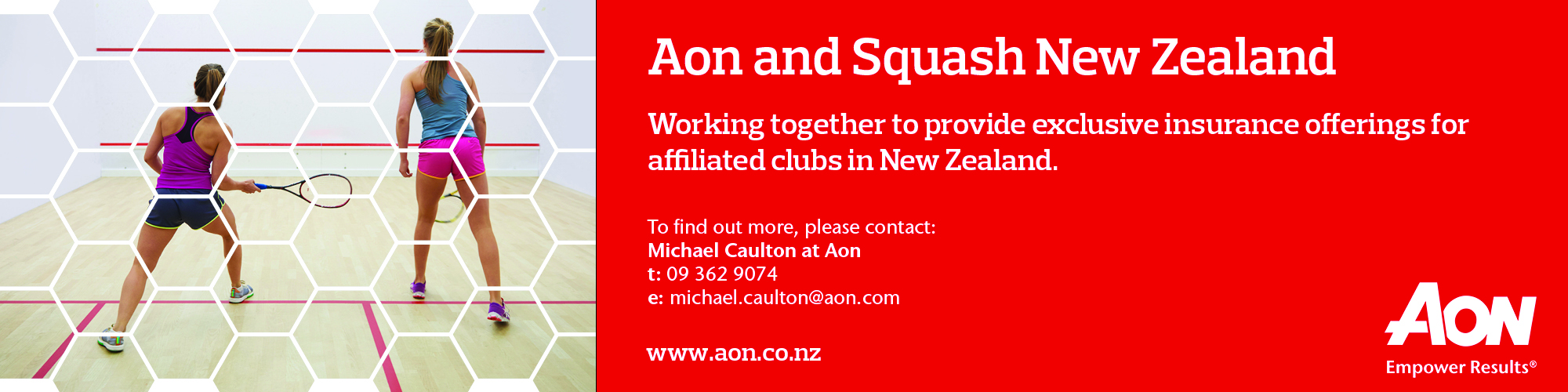 Squash NZ ad - October 2016