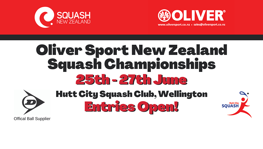 Updated Website Oliver Sport New Zealand Squash Championships