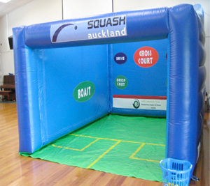 Inflatable court