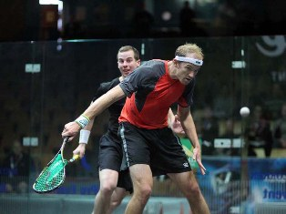 Campbell Grayson v Steve Coppinger, Swedish Open January 2012